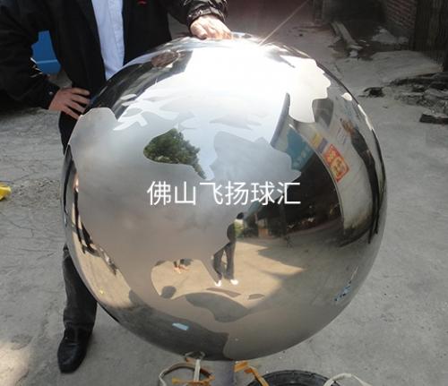 广西不锈钢地图球厂家