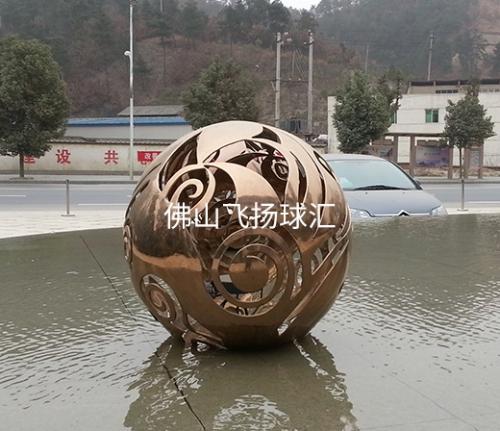 佛山不锈钢镂空球