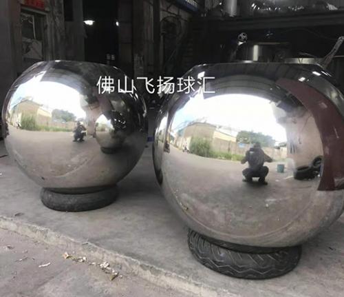 不锈钢特大空心球